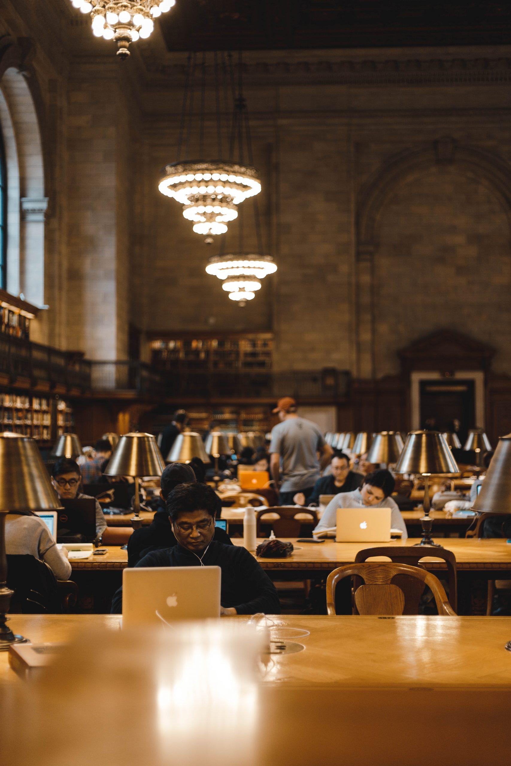 Public private library archive