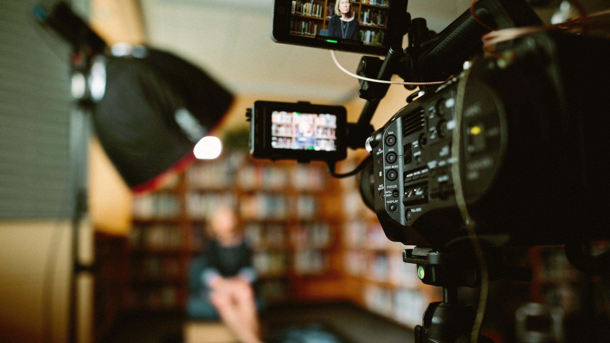 Video recording oral history interviews